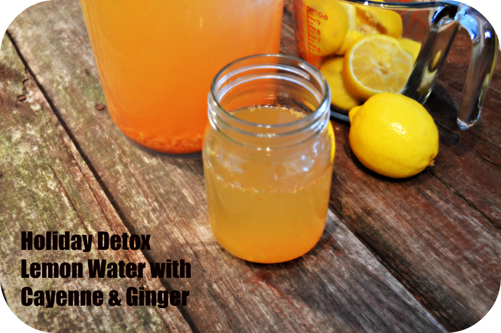 Ginger Cayenne Lemon